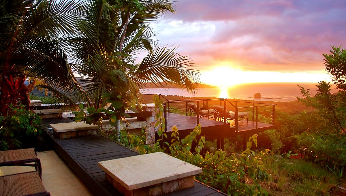 Hacienda Nelson - Sunset Deck