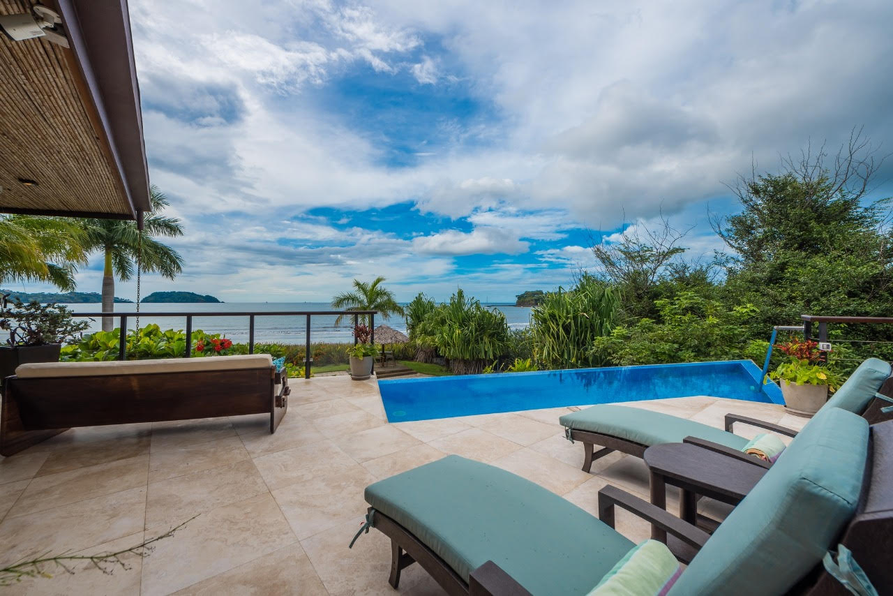 The Sanctuary – A Private Gated-Beachfront Oasis $1.850,000